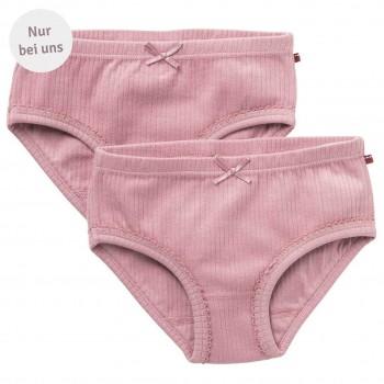 Slips Doppelpack uni rosa - Exklusiv bei greenstories