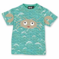 Bio Babyshirt hochwertig süsse Krabbe