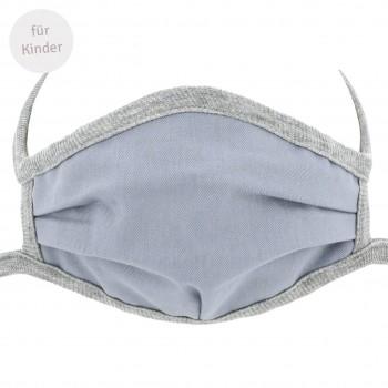 Kinder Mundbedeckung - Wiederverwendbare Maske grau