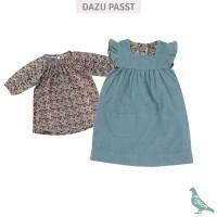 Vorschau: Retro leichtes Shirt Mädchen Blume elastischem Kragen