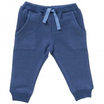 Leichte Sweat Babyhose jeansblau