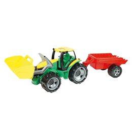 Großer Traktor mit Schaufel & Anhänger