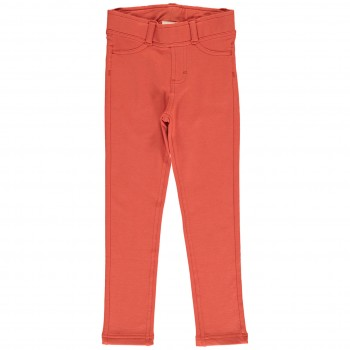 Sweat Treggings bequem kräftiges orange