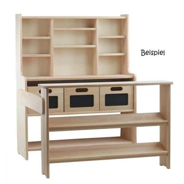 """Holzboxen mit Tafelfolie, z.B. für Kaufladen """"Theo"""""""