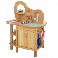 Vorschau: Hochwertige & robuste Spielküche - doppelseitig bespielbar