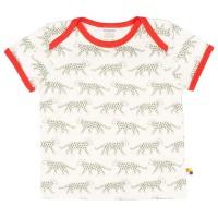 Kurzarm Shirt Gepard oliv-grün