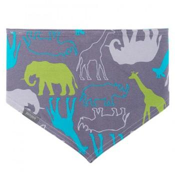 Elastischen Halstuch mit Zoo Tiere