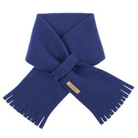 Steckschal Wolle 70 cm ca 1-3 Jahre blau