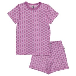Sommer Schlafanzug Bio Anemone lila