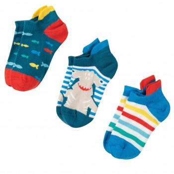 Sneaker Socken 3er Pack Hai