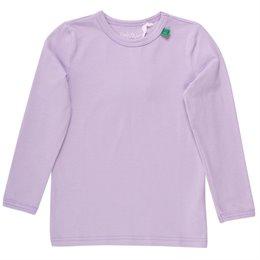 Langarmshirt Basic flieder