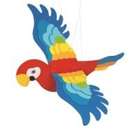 Schwingtier Papagei