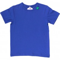 T-Shirt oder als Unterhemd - royal blau