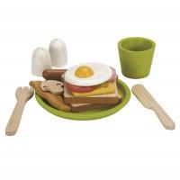 Spiellebensmittel Herzhaftes Frühstück