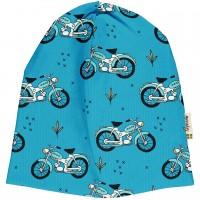 Leichte Beanie Mopeds in blau