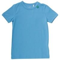 Elastisches T-Shirt hellblau
