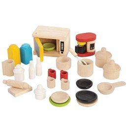 Zubehör für das Puppenhaus – Küchenzubehör