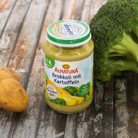 Brokkoli & Kartoffel für Babys nach dem 4. Monat (190g)