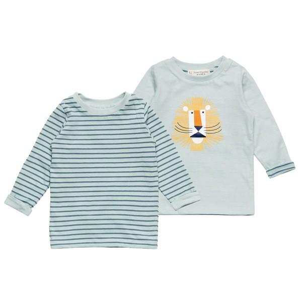 Super leichtes Wendeshirt Jungen - Löwe