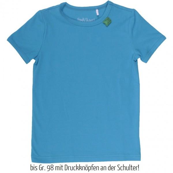 Anpassungsfähiges T-Shirt oder als Unterhemd - blau