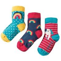 Kinder Mädchen Bio Socken 3er Pack