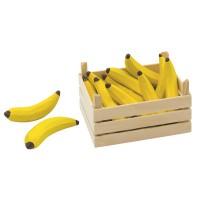 Obst Kiste für Kaufmannsladen - Bananen