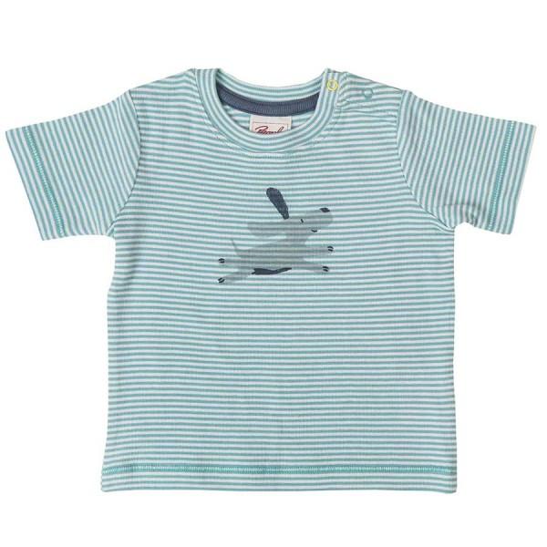 Bio T-Shirt Baby Druckknöpfen Hundi