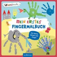 Mein erstes Fingermalbuch – Malbuch ab 2 Jahren