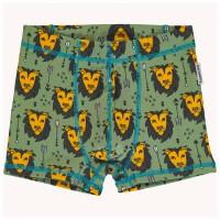 Jungen Löwen Boxershorts in moosgrün