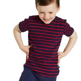 Griffiges T-Shirt gestreift Mädchen Jungen