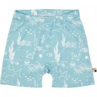 leichte Meereswelt Shorts türkis