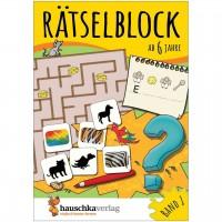 Rätselblock – Rätselspaß für Kinder ab 6 Jahre Bd 1