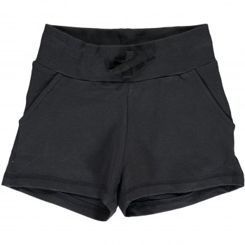 Kurze Sweat Shorts schwarz