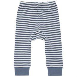 Babyleggings lässig blau gestreift
