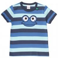 "T-Shirt ""Guck' mal"" Block-Streifen"