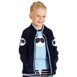 Warme Fleecejacke Winter Übergangszeit Panda