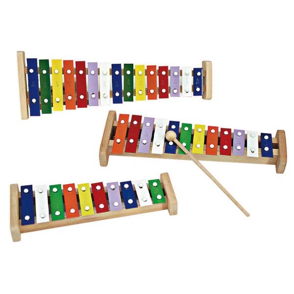 Xylophon 15 Stäbe Musikinstrument