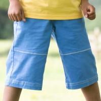 Coole Bermuda Shorts breiter Gummibund zum reinschlüpfen