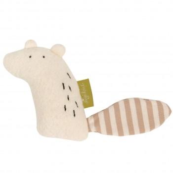 Bio Rassel Kuscheltier und Greifling Eichhörnchen 9 cm
