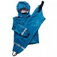 Regenbekleidung Sterne blau