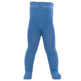 Blaue Strick Strumpfhose Bio