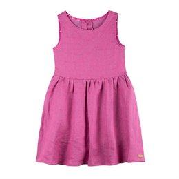 Pinkes, leichtes Mädchen Sommerkleid