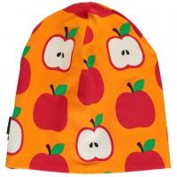 Leichte Apfel Beanie orange-rot