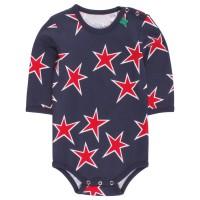 Vorschau: Rote Sterne Bio Baby Body