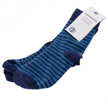 2 Paar Kinder und Baby Socken blau