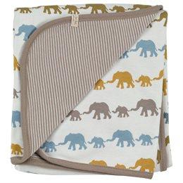 Wendedecke / Babydecke Elefantenkarawane