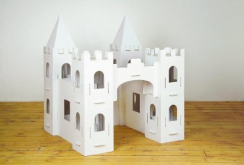 XXL Burg zum Stecken, malen & spielen
