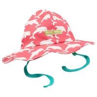 Leichte robuste Bio Sommer Mütze Mädchen rosa