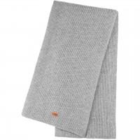 Damen Schal Wolle Kaschmir Mix grau 180x24 cm