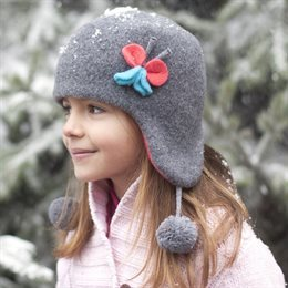 Elegante & fesche Kinder Wintermütze ohne Band